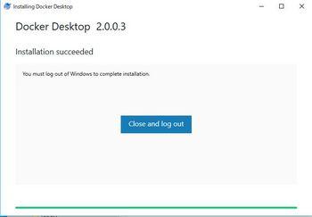 002_Dockerインストール完了時画面.JPG